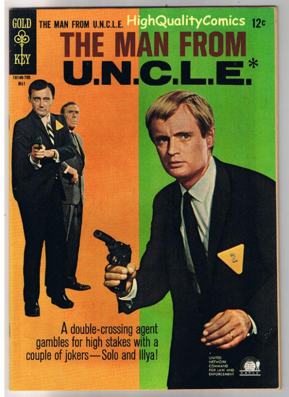 MAN from U.N.C.L.E. #12, VF+, Vaughn, Photo, Gold Key, 1965, more in store