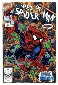 Web Of Spider-man #70 1st Spider-Hulk - comic book
