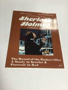 Sherlock Holmes A Graphic Novel 100th Anniversary Edition SC Softcover Oversized