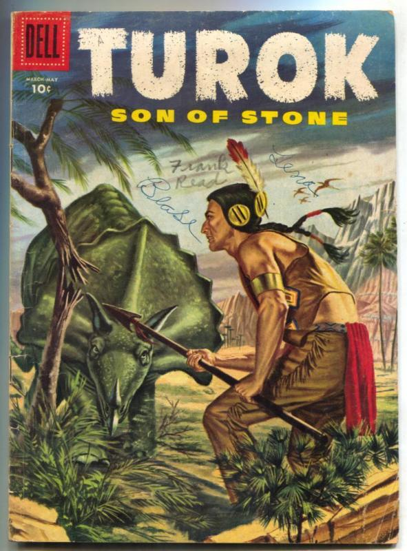 Turok Son of Stone #3 1956- Dell comics VG-