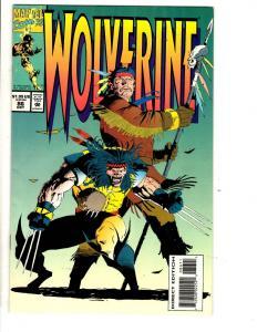 Lot Of 10 Wolverine Marvel Comic Books # 86 87 88 89 90 91 92 93 94 95 X-Men MF8