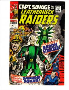 Captain Savage and His Leatherneck Raiders #2 (Mar-68) VF+ High-Grade Captain...
