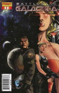 Battlestar Galactica (Dynamite) #1B VF/NM; Dynamite | save on shipping - details