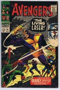 Avengers #34 ORIGINAL Vintage 1966 Marvel Comics