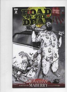 ROAD of the DEAD #2, VF, Highway to Hell, 2018, Variant, Zombies, Horror
