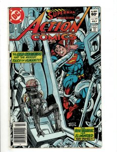 12 Action Comics DC Comics 545 584 585 586 587 588 589 590 591 592 593 594 HG1