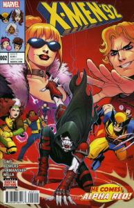 X-Men '92 (2nd Series) #2 VF/NM; Marvel   save on shipping - details inside