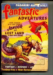 Fantastic Adventures-Pulp-10/1940-Robert Moore Williams-Henry Kuttner