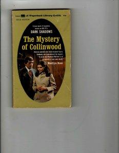 3 Books The Mystery of Collinwood Circus Elton John Go Pop Annual 1968 JK20