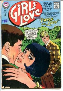 GIRLS' LOVE STORIES #130-DC ROMANCE-TWICE IN LOVE!-NICE G