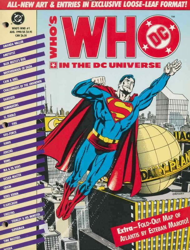 Who's Who in the DC Universe #1 VF/NM; DC | save on shipping - details inside