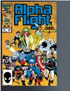 Alpha Flight #39 (1986)