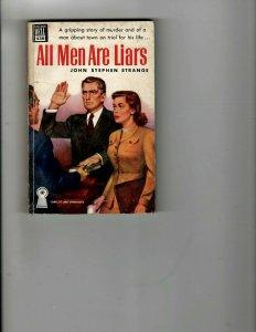 3 Books All Men Are Liars Death Haunts the Dark Lane Ripley's Believe It Or JK33