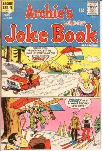 ARCHIES JOKE BOOK (1954-1982)169 VG Feb. 1972 COMICS BOOK