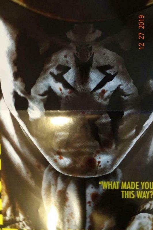 RORSCHACH BEFORE WATCHMEN Promo Poster, 11 x 17, 2012, DC Lee Bermejo Unused 407