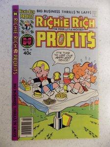 RICHIE RICH PROFITS # 33 HARVEY CARTOON ADVENTURE FUNNY