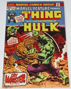 MARVEL FEATURE #11 (6.5) THING vs THE HULK ID#21Q
