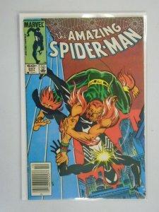 Amazing Spider-Man #257 Newsstand edition 4.0 VG (1984 1st Series)