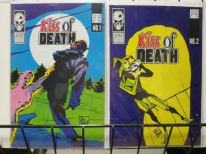 KISS OF DEATH (1987 AE) 1-2  John Watkiss