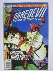 DAREDEVIL 170 VF May 1981 Frank Miller Kingpin