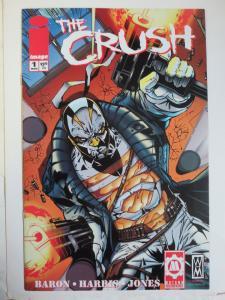 Crush #1 (Image 2006) Signed by Chris Sotomayor 1st Published Work