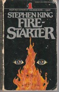 Firestarter by Stephen King(Signet Books, 1st printing, 1981)