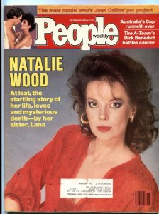 People Weekly 10/13/1983- Natalie Wood- Evel Knievel