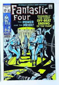 Fantastic Four (1961 series) #87, VF- (Actual scan)