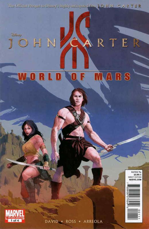 John Carter: The World of Mars #1 VF/NM; Marvel | save on shipping - details ins