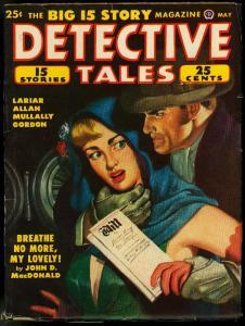 Detective Tales Pulp May 1950-JOHN D MACDONALD-SPICY BABE-fn