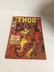 Thor 153 Vg Very Good 4.0 Water Spots Marvel Comics Silver Age