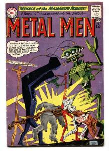 METAL MEN #5 DC comic book SILVER-AGE-THE GAS GANG VG