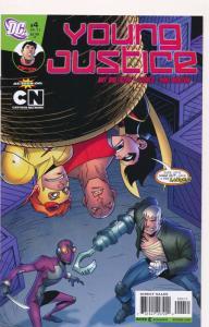 Young Justice #4 ~ DC Comics ~ NM (HX428)