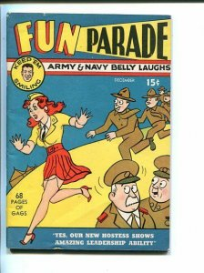 FUN PARADE #1-1941-RARE-HARVEY-HELFANT-WWII ERA-SOUTHERN STATES PEDIGREE-vf