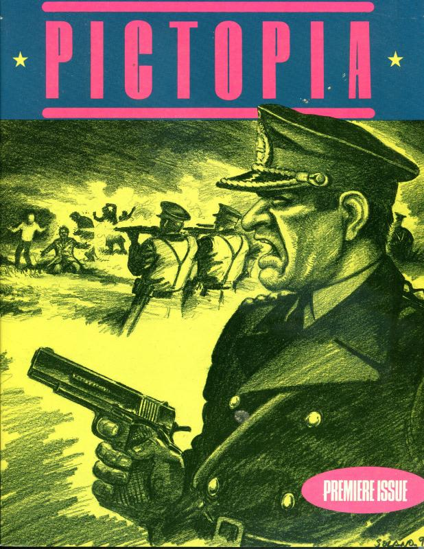PICTOPIA Graphic novel, VF/NM, Fantagraphics, 1991, 1st, TPB, more GN in store