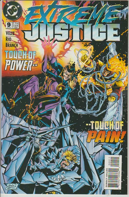EXTREME JUSTICE #9 - DC COMICS - BAGGED & BOARDED