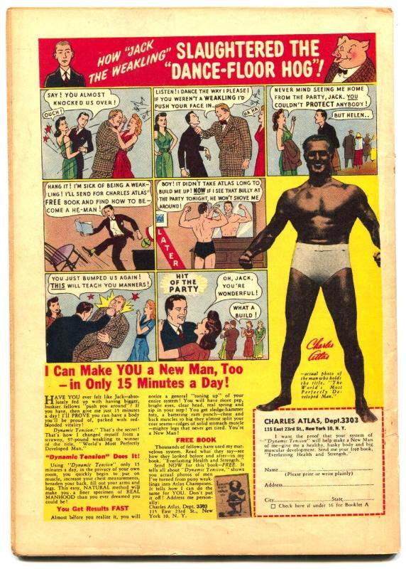 Blackhawk #14 1947- Bill Ward art- Golden Age CHOP CHOP FN