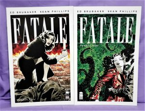 Ed Brubaker FATALE #5 and #9 2-Pack Sean Phillips (Image, 2012)!