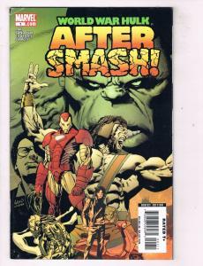 World War Hulk Aftersmash (2007) #1Marvel Comic Book Iron Man Greg Pak HH3