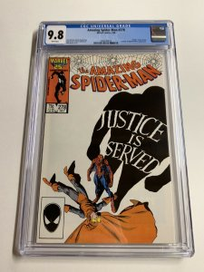 Amazing Spider-man 278 Cgc 9.8 White Pages Marvel Copper Age