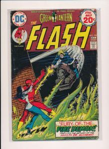 THE FLASH Green Lantern #230 ~ DC Comics 1974  ~ VG (HX344)