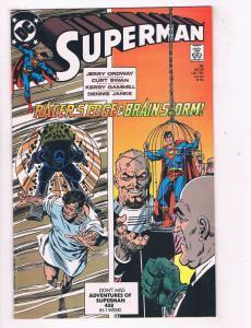 Superman (1987 2nd Series) #35DC Comic Book Brainiac Lex Luthor HH3