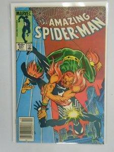 Amazing Spider-Man #257 Newsstand edition 5.0 VG FN (1984 1st Series)