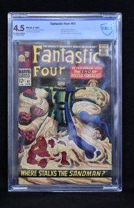 Fantastic Four #61 (Marvel, 1967) CBCS 4.5