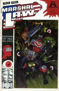 MARSHAL LAW Kingdom of the Blind #1, VF/NM, Kevin O'Neill, Apocalypse, 1990
