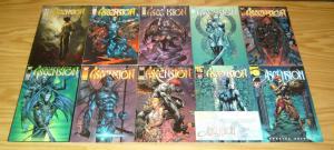 Ascension #0 & ½ & 1-22 VF/NM complete series - image comics - david finch half