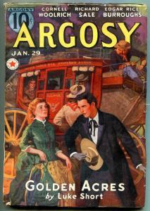 Carson of Venus Complete Argosy Serialization 1938 6 pulp lot Burroughs