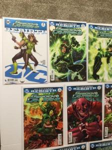 Green Lanterns Rebirth 1 1 2 3 4 5 6 7 9 11 12 13 14 Variant Set Nm Near Mint IK