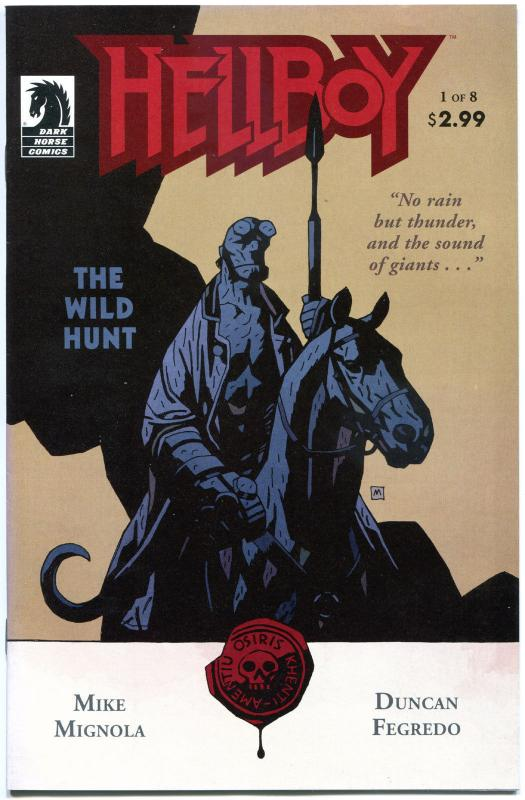 HELLBOY The WILD HUNT #1 2 3 4 5 6 7 8, NM-, 2008, 8 issues, more HB in store