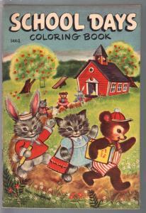 School Days #544 1953-funny animal imagery-Jean Tamburine-VF